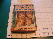 vintage book: THE BOBBSEY TWINS AT THE SEASHORE by Laura Lee Hope, 1940