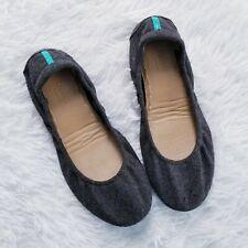 Tieks by Gavrieli Greystone Vegan Wool Ballet Flats Size 7 Charcoal Gray