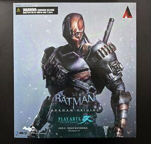 Play Arts Kai Arkham Origins No. 2 Deathstroke figure