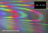 Feuilles diffraction Râper linéaire 1000 lignes/mm holographique optique spectre