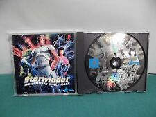 PlayStation -- STAR WINDER -- PS1. JAPAN GAME. work fully. 36489