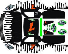 Losi 5ive T HPI splash wrap decals stickers BIG FLEX ROVAN TEAM HOONAGE