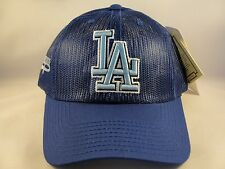 MLB Los Angeles Dodgers Vintage Trucker Snapback Hat Cap American Needle Blue