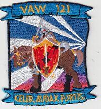 VAW-121 BLUETAILS CELER, AUDAX, FORTIS SHOULDER PATCH