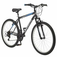 Men's Mountain Bike 26 Inch Wheels Steel Mountain Frame 18 Speeds Black/Blue New