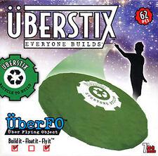 Uberstix UberFO UFO Flying Object Construction Set for Kids 62 pcs Build Fly It