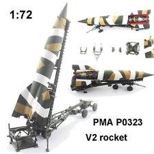1:72 WWII Germany PMA P0323 V-2 Rocket Missile Launcher Model Finished Model