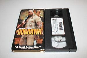 The Rundown (VHS 2004) Dwayne Johnson, Seann William Scott, Christopher Walken