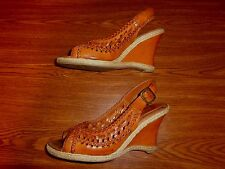 George WEDGE SANDALS WOMEN'S SIZE 7