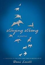 Staying Strong Inspirational Journal by Demi Lovato (2014, Paperback) New