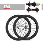 60mm Tubolare 700C Carbonio Road Bicicletta Set Ruote Bike ruote