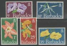 Mint Never Hinged/MNH Flowers Barbadian Stamps (Pre-1966)