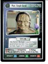 Star Trek Ccg DS9 Rare Carte Uni, Simple Garak