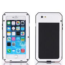 Heavy Duty iPhone 7 4.7 Métal Housse Gorilla aluminium antichoc Case Blanc