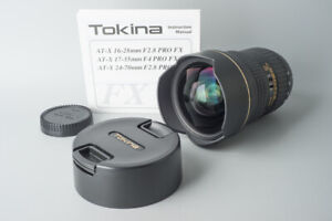 Tokina AT-X Pro SD 16-28mm f/2.8 F2.8 FX Lens For Nikon F Mount, Full Frame