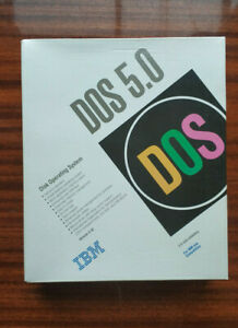"""MS DOS 5.0 IBM 3,5"""" HD IBM and Compatibles (1992)"""