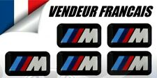 5  AUTOCOLLANT STICKER 3D LOGO BMW M Mtech JANTES VOLANT M3 E46 E60 E81 E90 E92