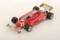 LookSmart Ferrari 126 CK #27 G. Villenueve GP Canada 1981 with Showcase 1/18
