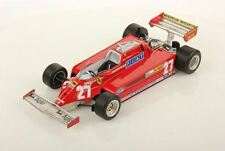 LookSmart Ferrari 126 CK #27 G. Villeneuve GP Canada 1981 with Showcase 1/18