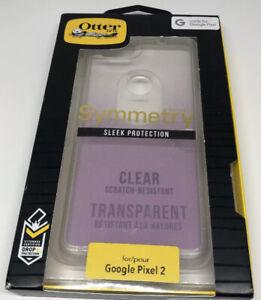 OtterBox Google Pixel 2 Case Symmetry -Clear Glitter