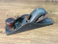 Vintage Steel Carpenters Plane Woodworking Carpenter H2