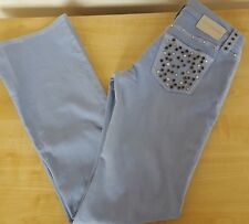 Fornarina Ladies Faded Blue Cotton Jeans W35 L34