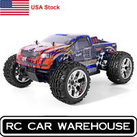 HSP RC Car 1/10 Scale 4wd Off Road Monster Truck Brushless Motor High Speed RTR