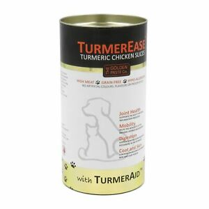 TurmerEase Tumeric Chicken Slices 300g Healthy Skin Joint Mobility for Cats Dogs