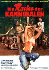 Die Rache der Kannibalen ORIGINAL A1 Kinoplakat Umberto Lenzi SCHLECHTER ZUSTAND