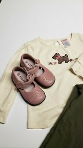 Circo Toddler Girls Mary Jane Strap Casual Dress Flower Shoes Pink Size 5.5