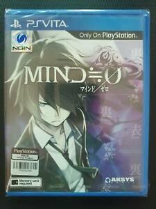 PS VITA Mind = 0 (Mind Zero) English version Brand New