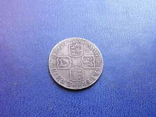 Queen Anne Silver Shilling, 1711