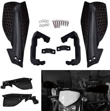 1 Pair 7/8'' Motorcycle Handlebar Hand Guards Handguard Falling Protector Black