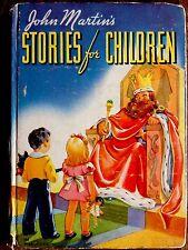 JOHN MARTIN'S STORIES FOR CHILDREN ~ Antique 1930's Hardcover Book