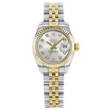 Rolex Datejust 179173 Diamonds Steel & 18K Yellow Gold Automatic Ladies Watch