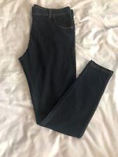 Ladies Indigo Knitted Jegging Trousers UK 16