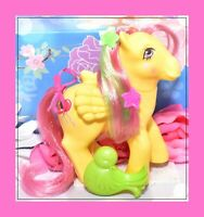 ❤️My Little Pony MLP G1 Vtg Magic Message Floater Pegasus & Original BRUSH❤️