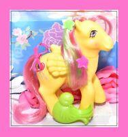 ❤️My Little Pony MLP G1 Vtg Magic Message Floater Pegasus & Original BRUSH❤️