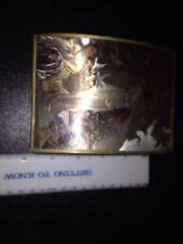 Vintage Brass Glass Angel Music Trinket box Enesco Wedding March Victorian