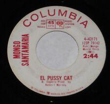"Mongo Santamaria 7"" 45 DJ PROMO HEAR NORTHERN SOUL El Pussy Cat Black Eyed Peas"