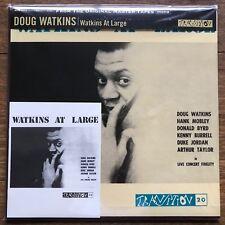 Doug Watkins At Large Japan Blue Note LP 200gram DELP-002 Insert Obi 2012