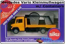 Siku 2017 1:55 Mercedes Vario Kleinmullwagen/Containers