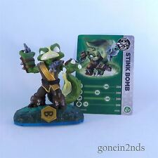 Skylanders Swap Force STINK BOMB SWAPPABLE + CARD (Life) Trap Team/Superchargers