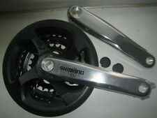 Shimano CICLO/BICI GUARNITURA TRIPLA Manovella chainwheel 24/34/42 FC-M131 Inc Guard