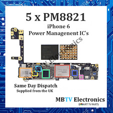 5 x PM8821 - iPhone 6 Small Power Management IC - Repair Overheating / Dead