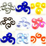 Spiral Taper Stretcher Expanders Acrylic Flesh Tunnel Ear Plug Stretching