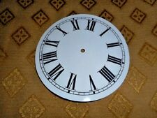"""Roman-GLOSS WHITE-Face //Clock Parts//Spares # Round Paper Clock Dial 6 3//4/"""" M//T"""