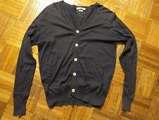 John Smedley Sea Island cotton cardigan, made in England
