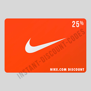 NIKE 25% DISCOUNT CODE - UK/EUROPE - UNIQUE DISCOUNT CODE FOR NIKE STORE ONLINE