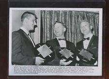 Jan 28 1962 Mickey Mantle / Whitey Ford / Roger Maris 8 X 10 Wire Photo